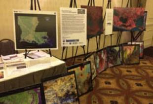 Earth as Art at Remote Sensing GIS Conference in Baton Rouge, LA